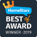 Homestars best award winner 2019